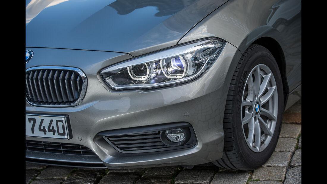 BMW 116d EDE, Frontscheinwerfer