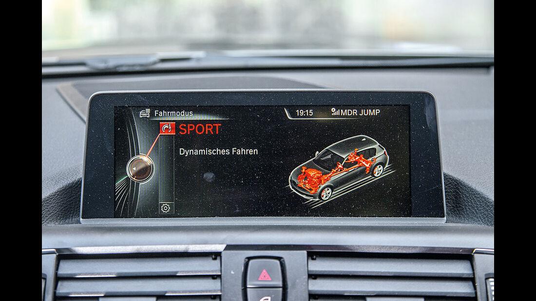BMW 116d EDE, Infotainment, Monitor