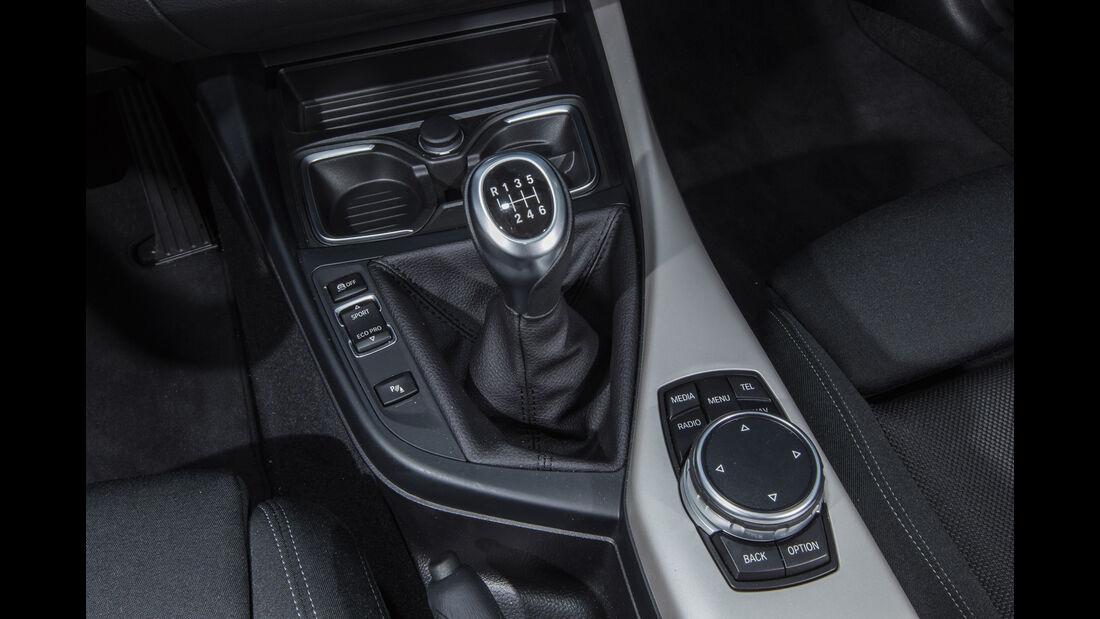 BMW 116d EDE, Schalthebel