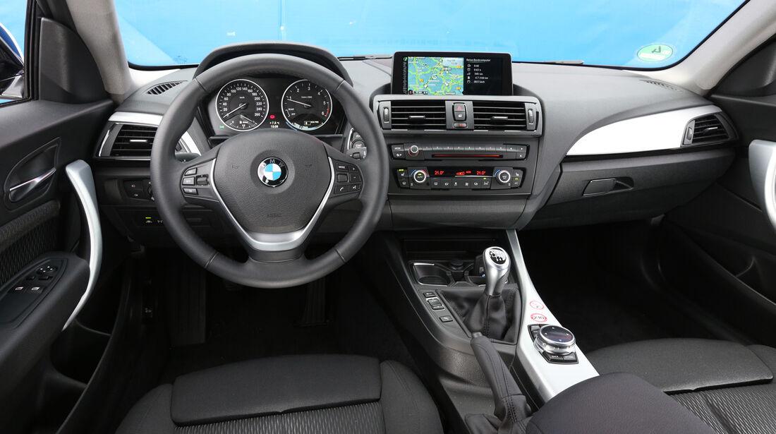 BMW 116d Efficient Dynamics Edition, Cockpit