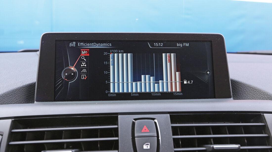 BMW 116d Efficient Dynamics Edition, Monitor