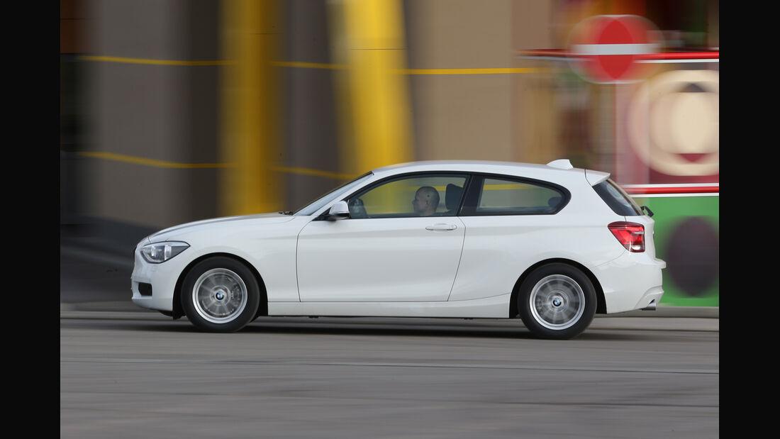 BMW 116d Efficient Dynamics Edition, Seitenansicht