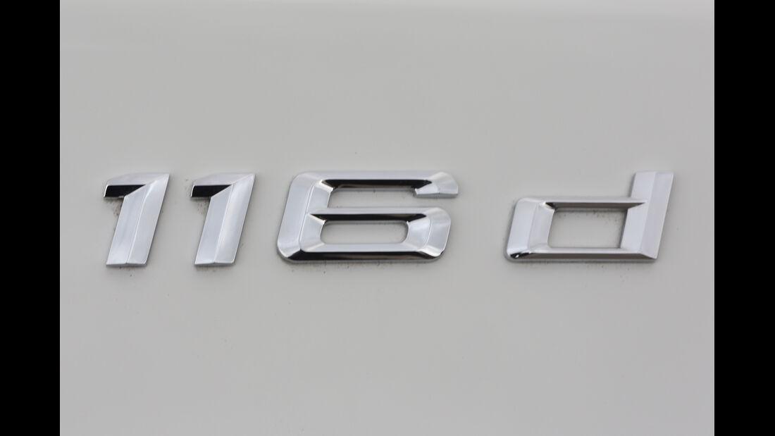 BMW 116d Efficient Dynamics Edition,Typenbezeichnung