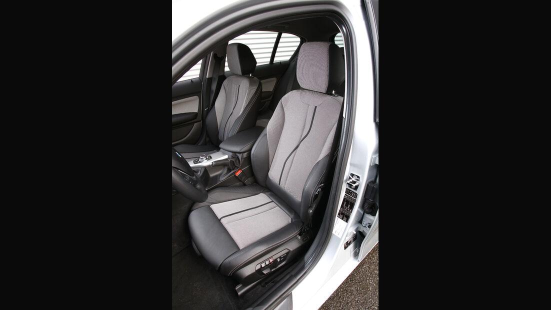 BMW 116d, Fahrersitz