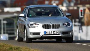 BMW 116d, Frontansicht