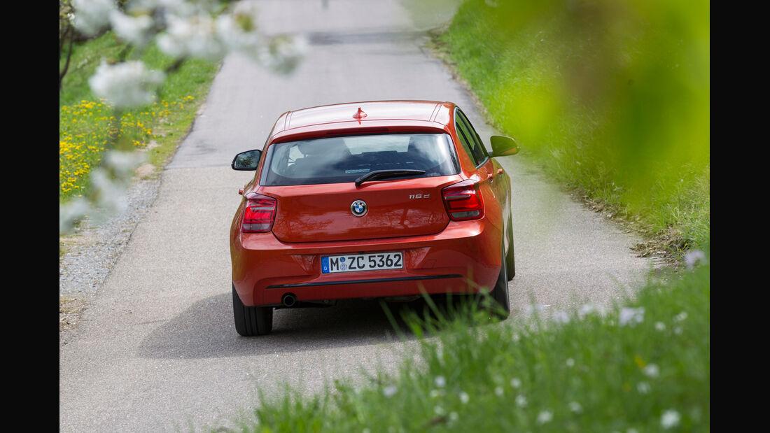 BMW 116d, Heck