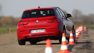 BMW 116d, Heckansicht