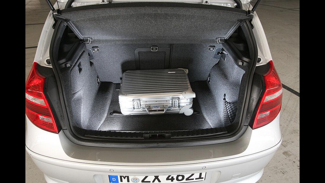 BMW 116d, Kofferraum