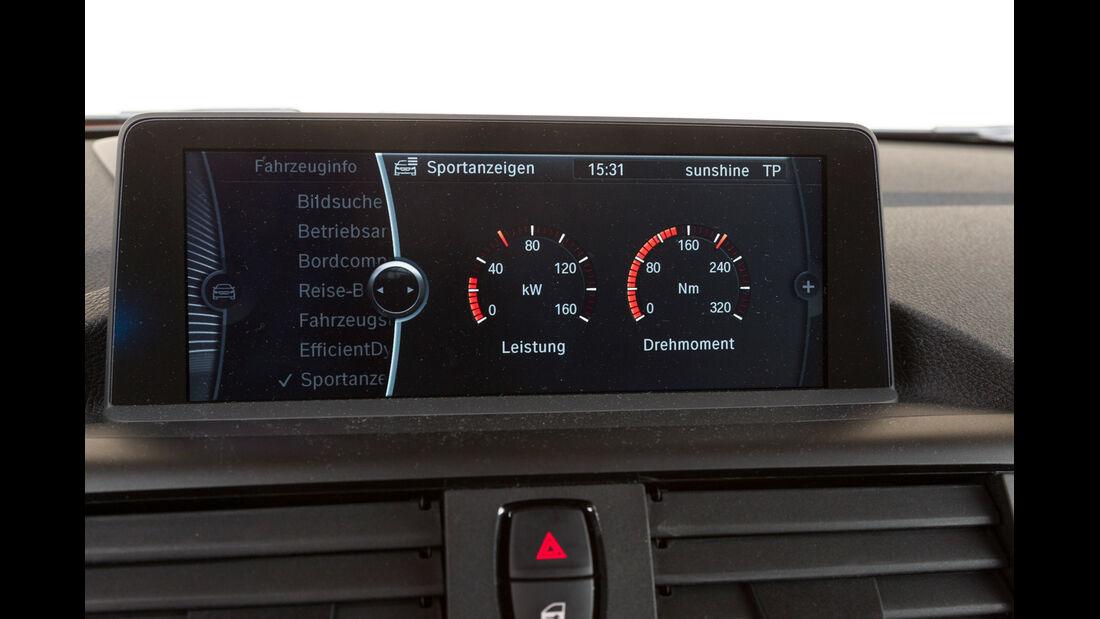 BMW 116d, Leistung, Drehmoment