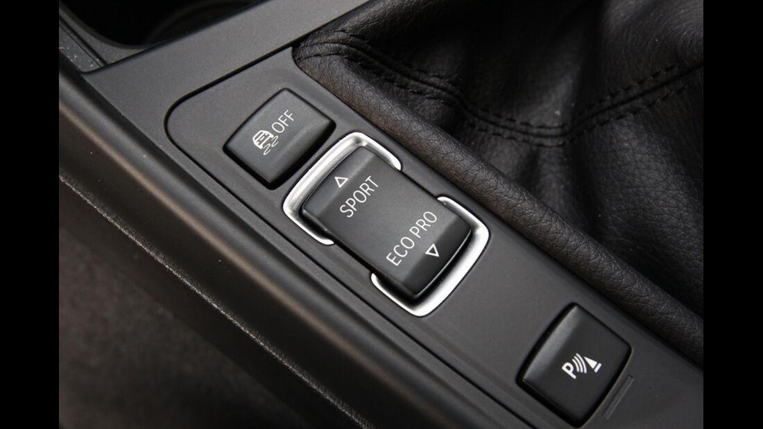 BMW 116d, Mittelkonsole