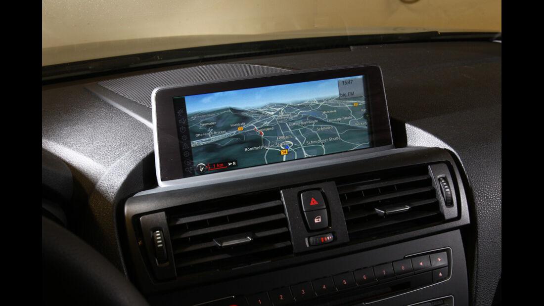 BMW 116d, Navigationsgerät