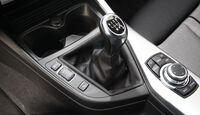 BMW 116d, Schalthebel, Schaltknauf