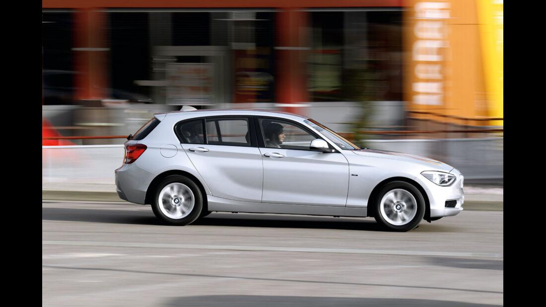 BMW 116d, Seitenansicht