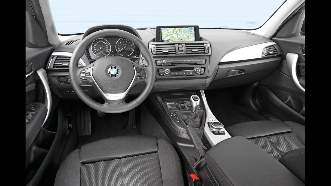BMW 116i, Cockpit