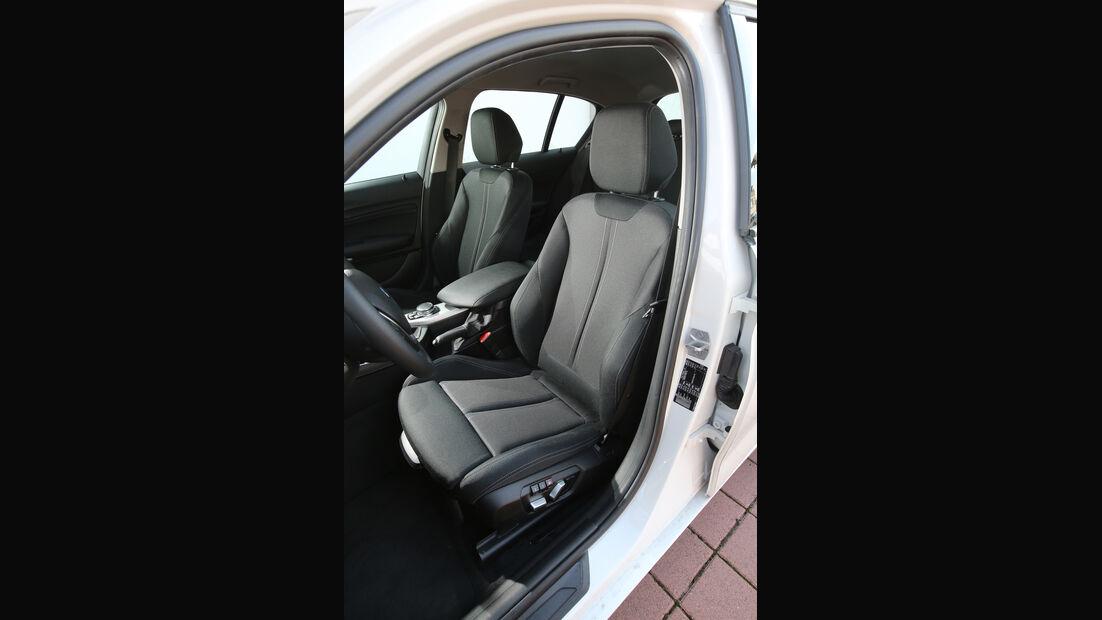 BMW 116i, Fahrersitz