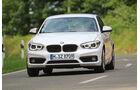 BMW 116i, Frontansicht