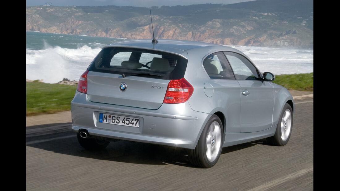 BMW 116i, Heck