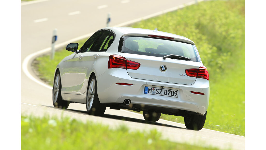 BMW 116i, Heckansicht