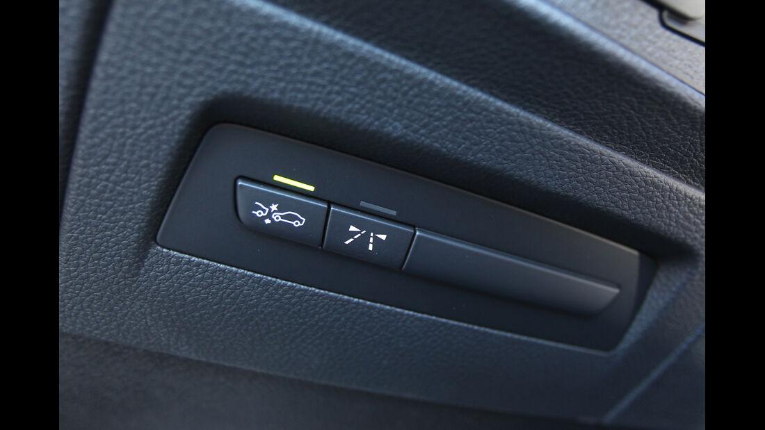 BMW 118d, Bedienelemente, Tasten