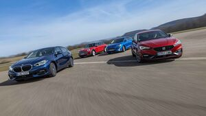 BMW 118d, Ford Focus 2.0 EcoBlue, Mini Clubman Cooper D, Seat Leon 2.0 TDI