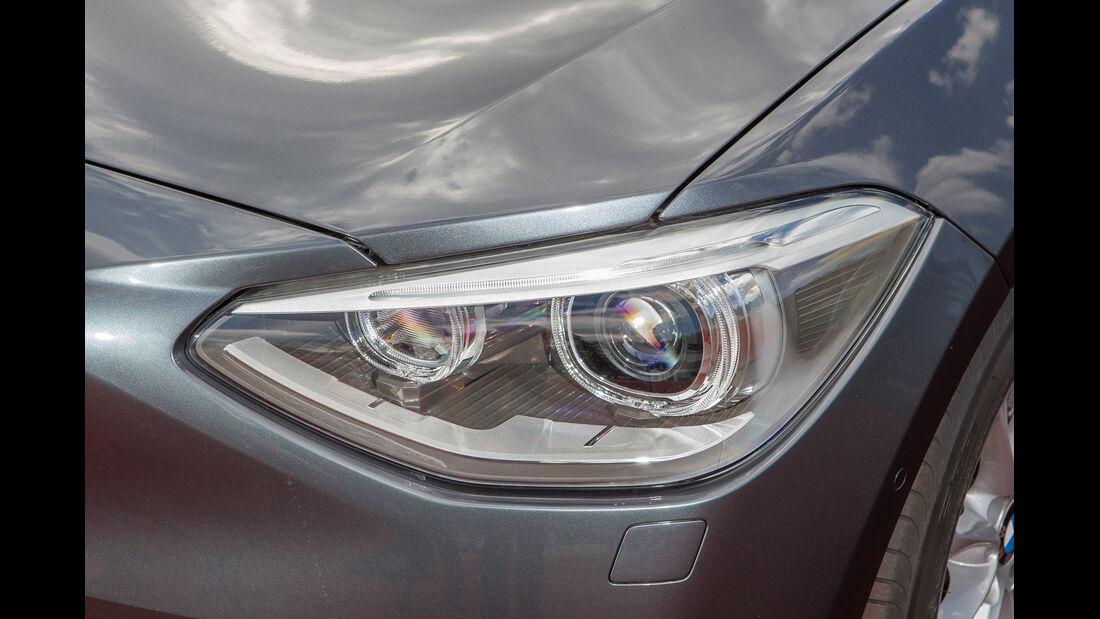 BMW 118d, Frontscheinwerfer