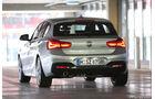BMW 118d, Heckansicht