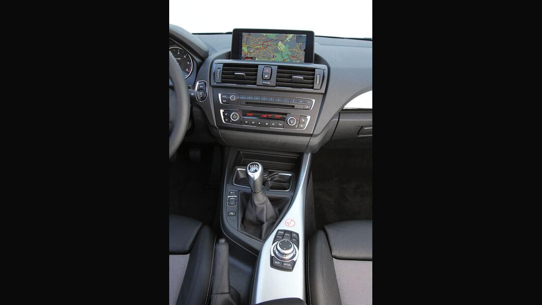 BMW 118d, Mittelkonsole