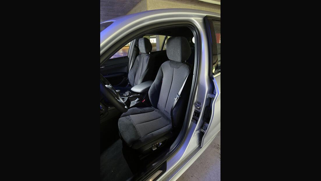 BMW 118d, Sitze