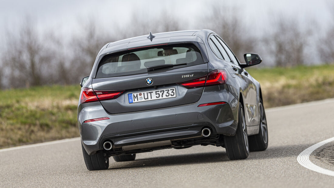 BMW 118d Sport Line, Exterieur