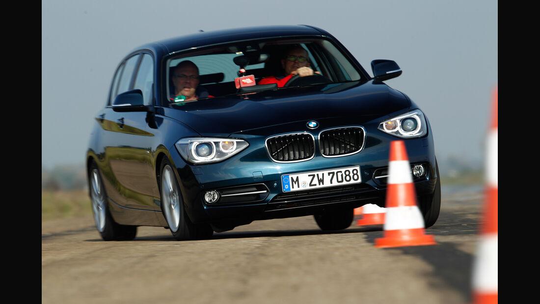 BMW 118d Sport Line, Frontansicht