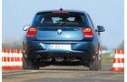 BMW 118d Sport Line, Heckansicht