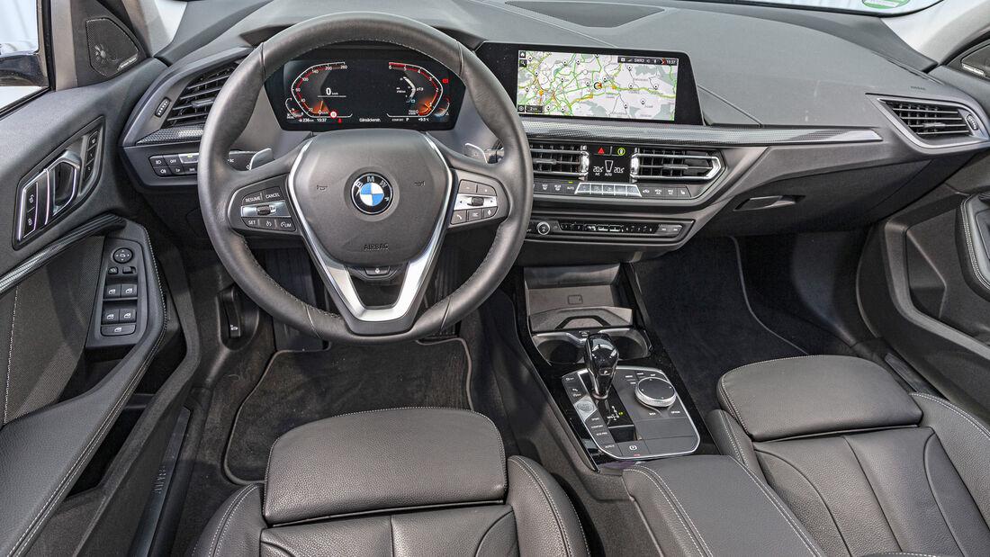 BMW 118d Sport Line, Interieur