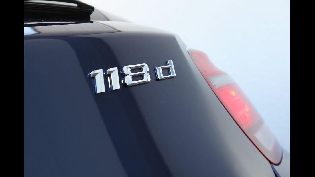 BMW 118d, Typenbezeichnung
