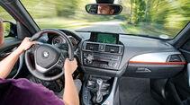 BMW 118i, Cockpit