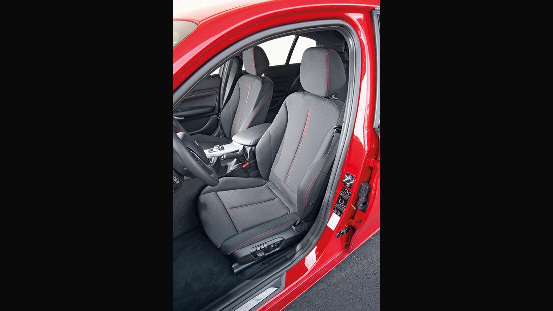 BMW 118i, Fahrersitz