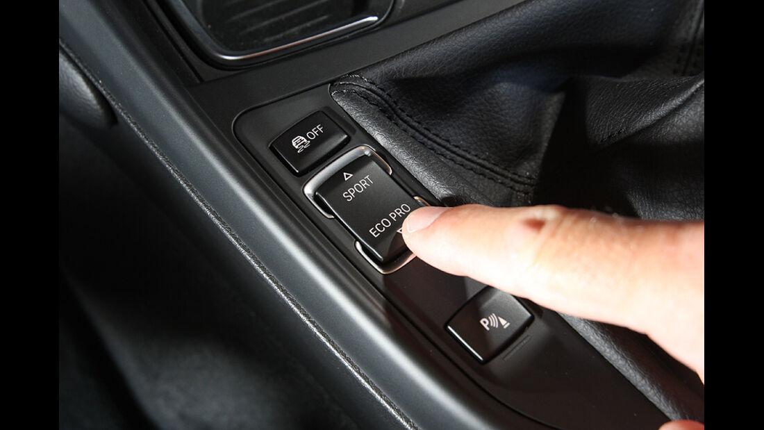 BMW 118i, Fahrmodus Eco Pro