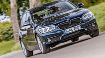 BMW 118i, Frontansicht