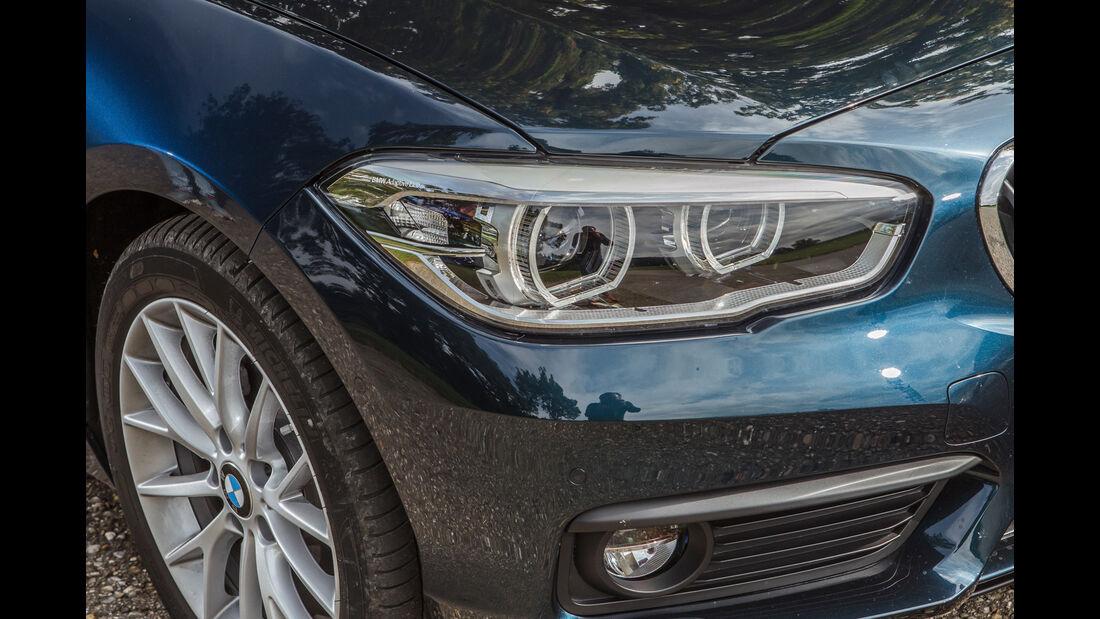 BMW 118i, Frontscheinwerfer