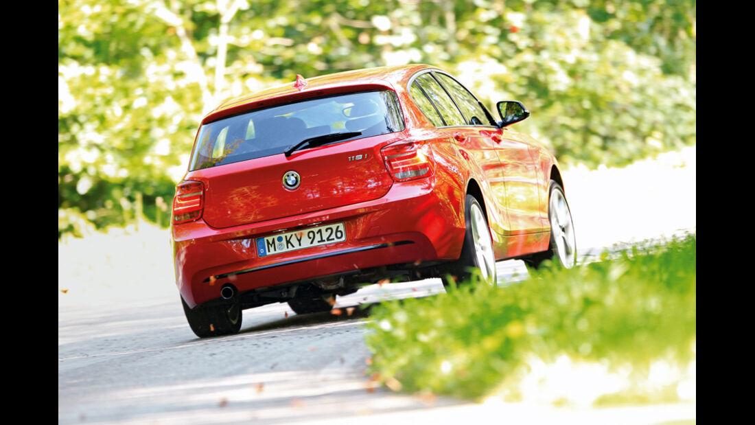 BMW 118i, Heck