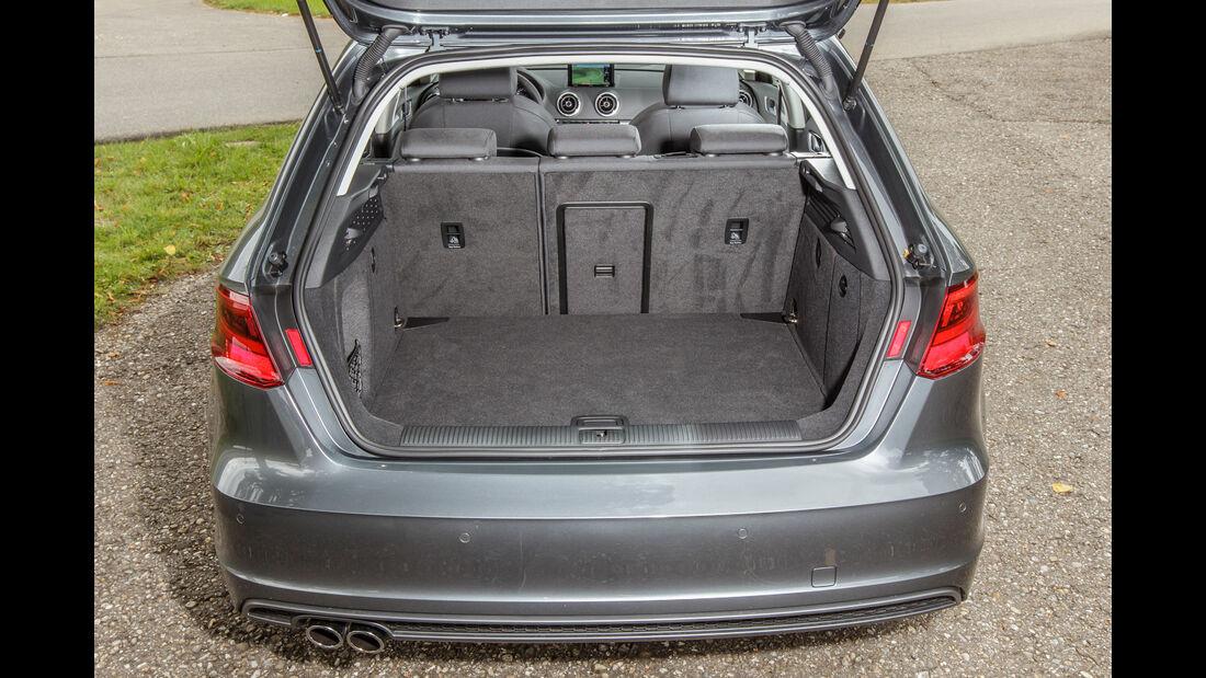 BMW 118i, Kofferraum