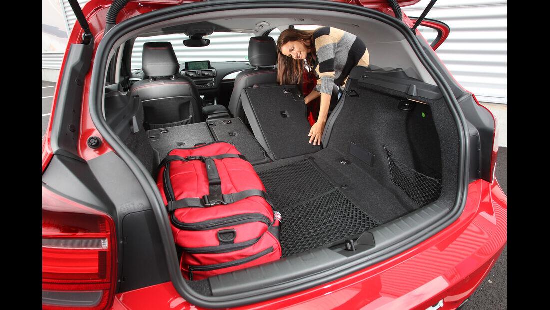 BMW 118i, Ladefläche, Kofferraum