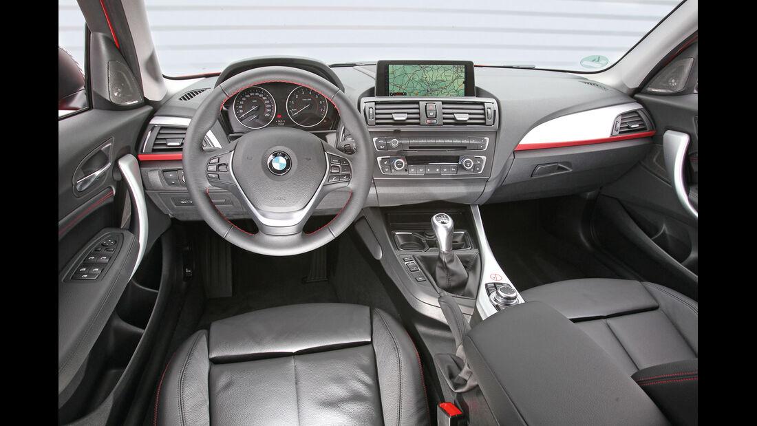BMW 118i, Navi, Bildschirm