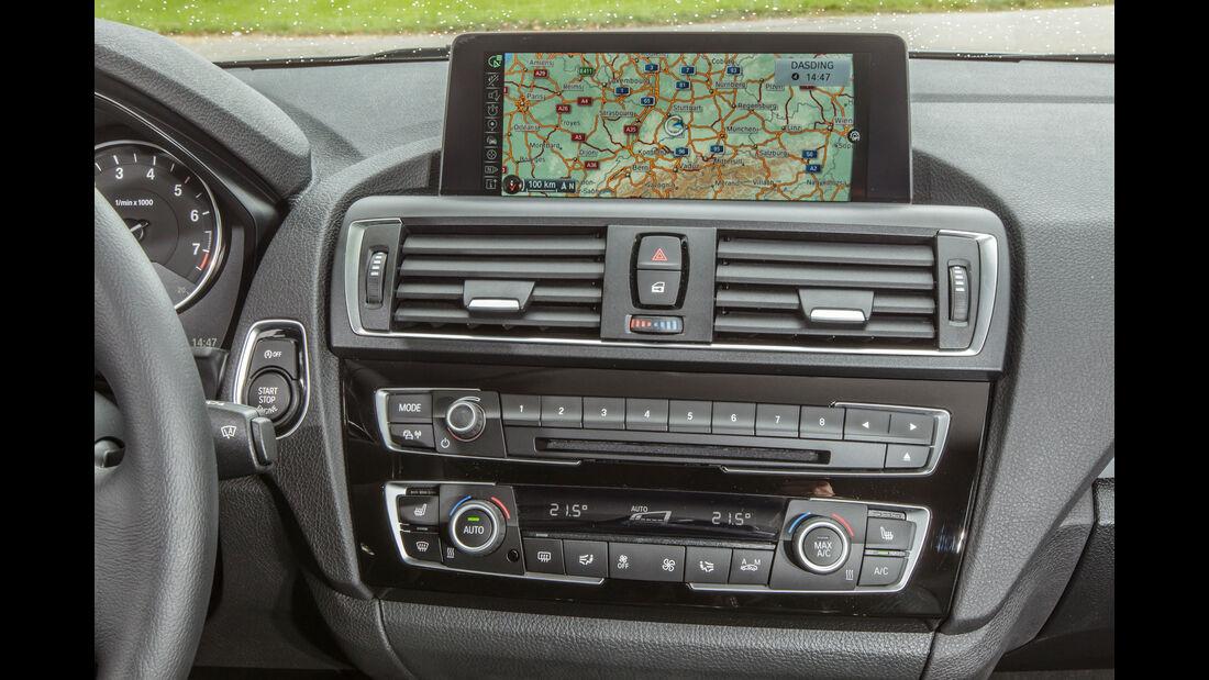 BMW 118i, Navi, Monitor