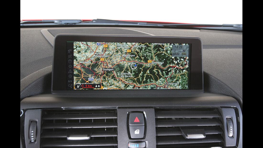 BMW 118i, Navigationssystem