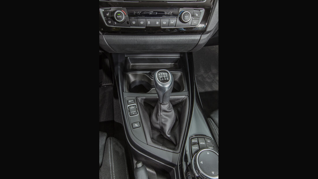 BMW 118i, Schalthebel