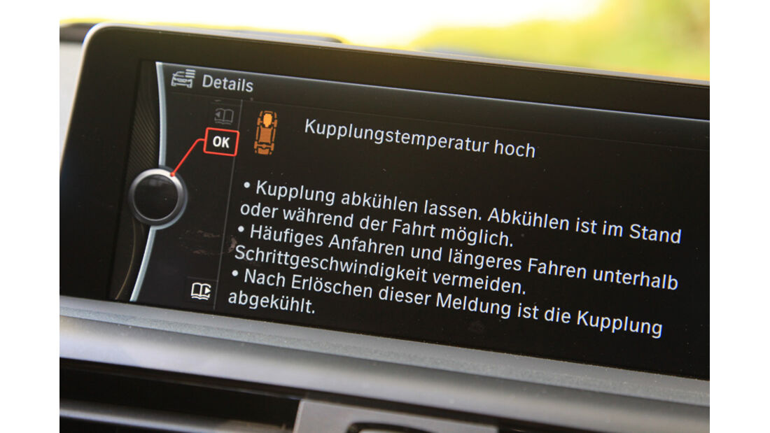 BMW 118i Sport Line, Bildschirm