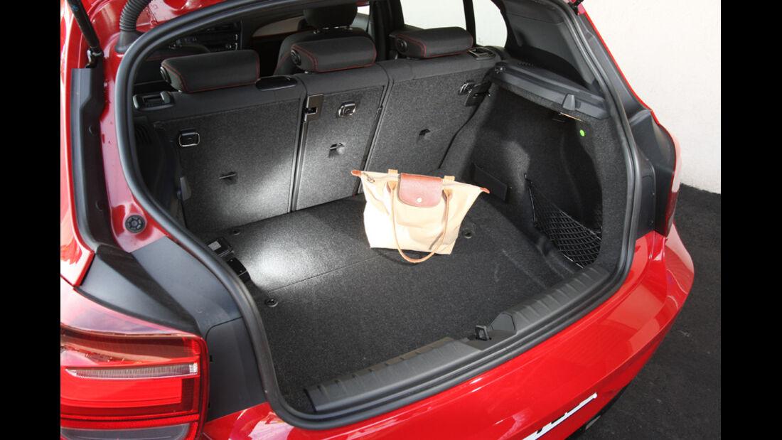 BMW 118i Sport Line, Kofferraum