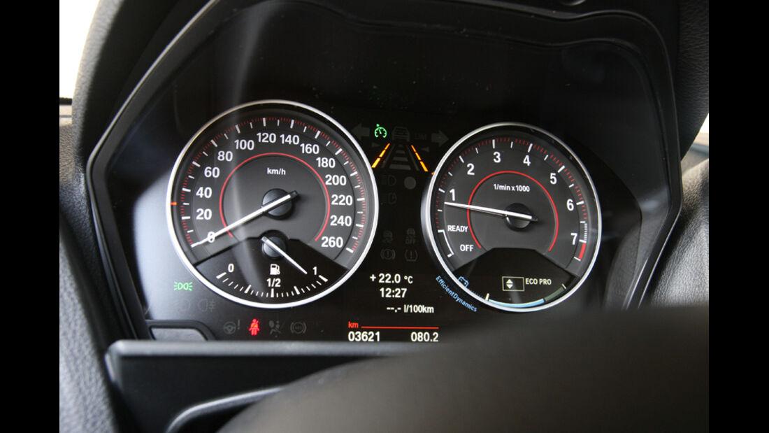 BMW 118i Sport Line, Rundinstrumente