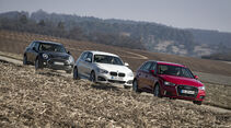 BMW 120d, Audi A3 2.0 TDI, Mini Clubman Cooper SD