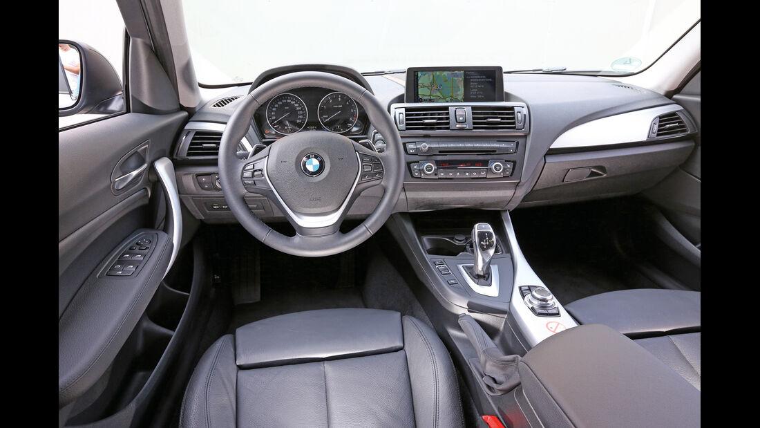 BMW 120d, Cockpit